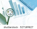 human resource management  ... | Shutterstock . vector #527189827