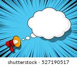 comic book background with... | Shutterstock .eps vector #527190517