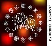 vector feliz navidad ... | Shutterstock .eps vector #527229067