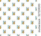 street clock pattern. cartoon... | Shutterstock . vector #527239393