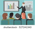 vector illustration business... | Shutterstock .eps vector #527241343