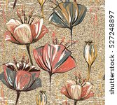 vector colorful tulips.... | Shutterstock .eps vector #527248897