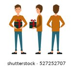 vector illustration of three... | Shutterstock .eps vector #527252707