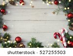 Christmas Background On The...