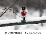 Nutcracker On A Snowy Branch...