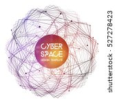 cyberspace and network... | Shutterstock .eps vector #527278423