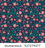 cute floral pattern in the... | Shutterstock .eps vector #527279377
