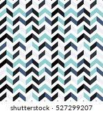 multicolor zigzag seamless... | Shutterstock .eps vector #527299207