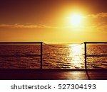 Sunrise Over Ocean. Empty...