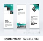 business vector set of modern... | Shutterstock .eps vector #527311783