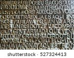 jesus   inscriptions on sagrada ... | Shutterstock . vector #527324413