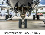 front landing gear of big... | Shutterstock . vector #527374027