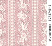 seamless lace pattern with... | Shutterstock .eps vector #527374543