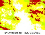 beautiful colored smoke or smog ... | Shutterstock . vector #527386483