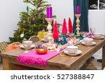 Christmas Dining Room Interior