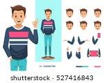 Man character design   Shutterstock vector #527416843