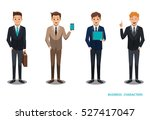 businessman character design no ... | Shutterstock .eps vector #527417047