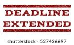 deadline extended watermark... | Shutterstock .eps vector #527436697