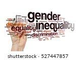 gender inequality word cloud | Shutterstock . vector #527447857