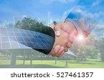 double exposure of a... | Shutterstock . vector #527461357
