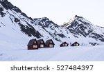 alaskan snowy mountain    Shutterstock . vector #527484397