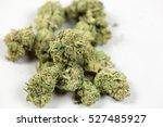 marijuana bud | Shutterstock . vector #527485927