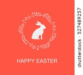 Happy Easter. Easter Bunny.