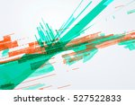 abstract graphic design  a... | Shutterstock .eps vector #527522833