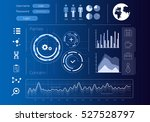 security virtual interface | Shutterstock . vector #527528797