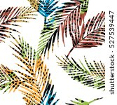 Trendy Seamless Exotic Pattern...