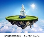 amazing fantasy scenery with... | Shutterstock . vector #527544673
