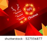 vector happy new year design  ... | Shutterstock .eps vector #527556877