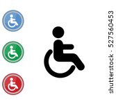 web icon. disabled | Shutterstock .eps vector #527560453