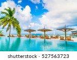 Swimming Pool Bar In Tropical...