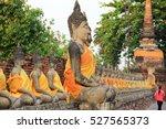 buddha statue in thailand | Shutterstock . vector #527565373