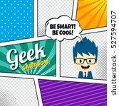 cartoon theme comic template