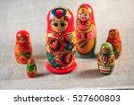 Russian Dolls. Matryoshka On...