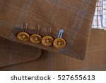 Tailored Brown Checked Suit...