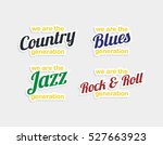 music label sticker song genre... | Shutterstock . vector #527663923