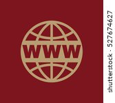 the www icon. seo and browser ...