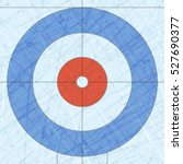 curling house. sport. textures... | Shutterstock .eps vector #527690377