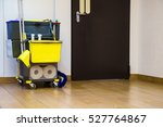 professional cleaning equipment ... | Shutterstock . vector #527764867