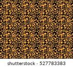 leopard pattern  vector ... | Shutterstock .eps vector #527783383
