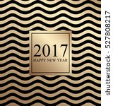 2017 happy new year. card for... | Shutterstock .eps vector #527808217