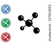 web icon. molecule | Shutterstock .eps vector #527813053