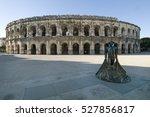 nimes  france. september 20 ... | Shutterstock . vector #527856817