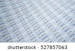 numbers on a spreadsheet in... | Shutterstock . vector #527857063