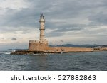 Lighthouse In The Old Harbor O...