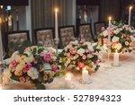 wedding decoration. bouquets of ... | Shutterstock . vector #527894323