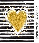 gold glitter typography. hand... | Shutterstock .eps vector #527911027